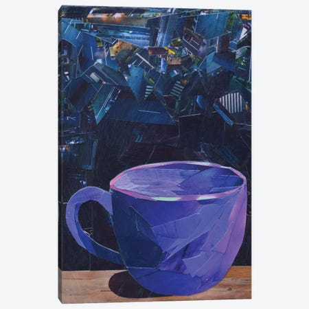 Cup VII Canvas Print #ATK53} by Albin Talik Canvas Print
