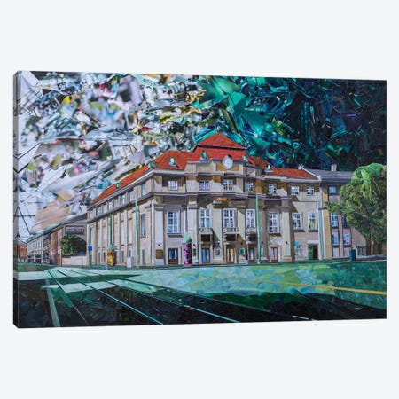 Philharmonic Hall Canvas Print #ATK55} by Albin Talik Canvas Art