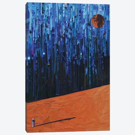 Glitchy World Canvas Print #ATK56} by Albin Talik Canvas Wall Art