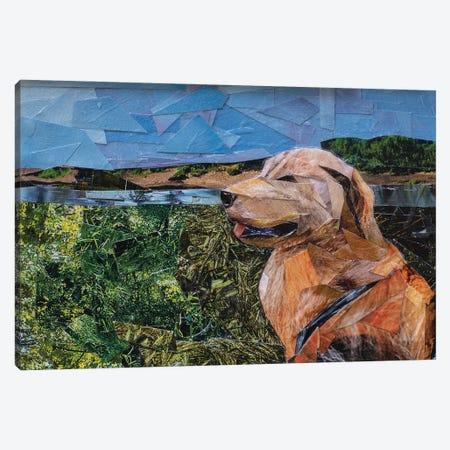 Dog Canvas Print #ATK61} by Albin Talik Canvas Wall Art