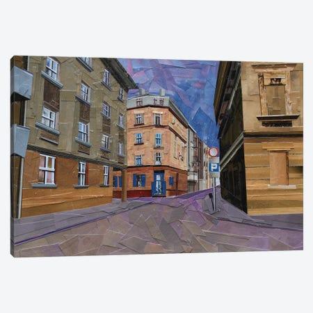 Cafe Szafe Canvas Print #ATK6} by Albin Talik Canvas Wall Art