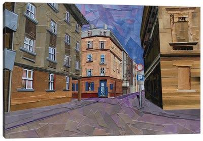 Cafe Szafe Canvas Art Print