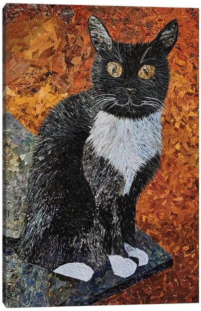 Cat Canvas Art Print