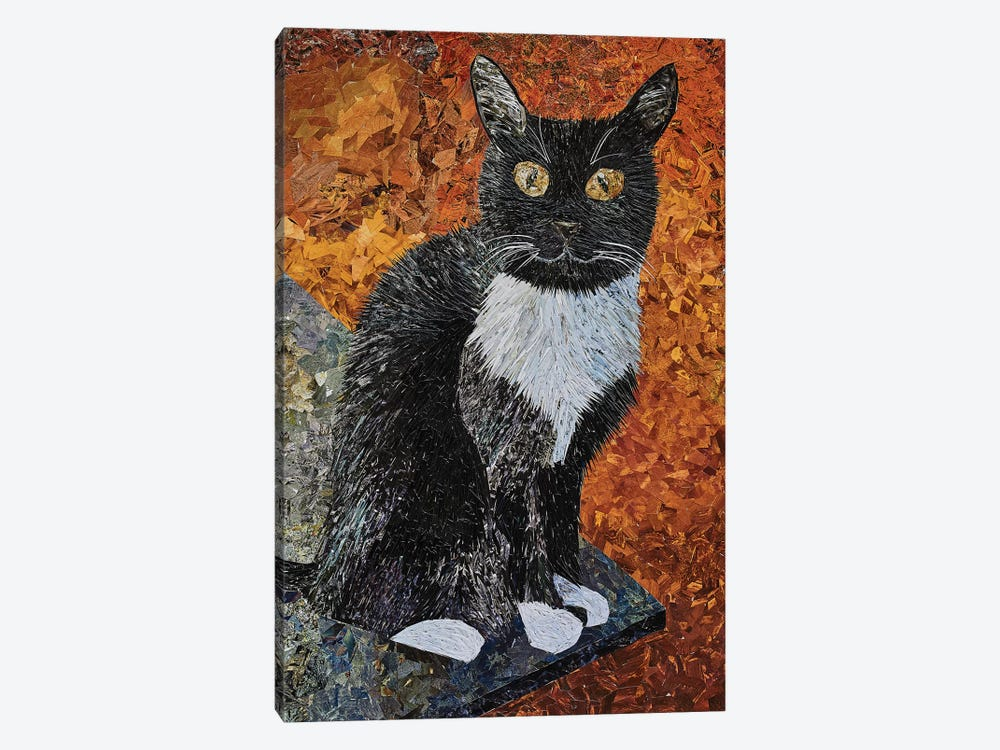 Cat by Albin Talik 1-piece Canvas Art Print