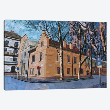 Church Canvas Print #ATK9} by Albin Talik Art Print
