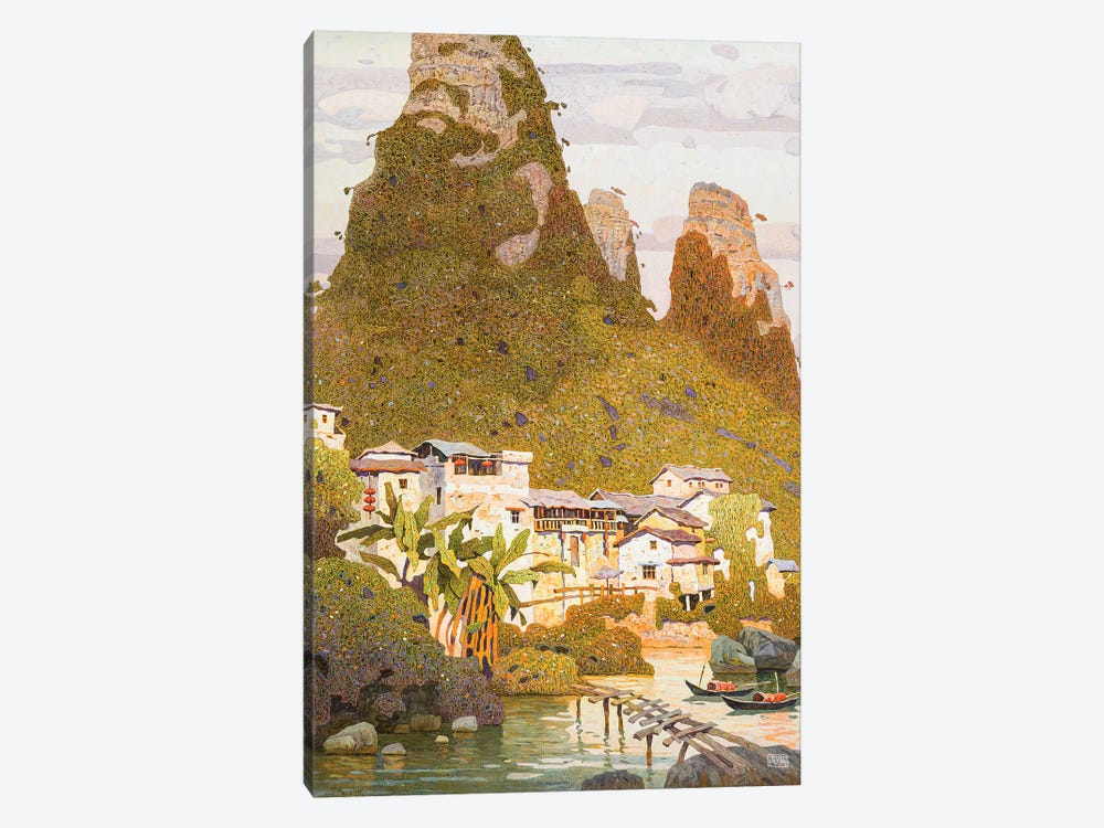 China I by Artem Tolstukhin 1-piece Canvas Artwork