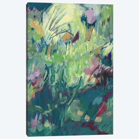 Recklessly Blooming Canvas Print #ATN8} by Ann Thompson Nemcosky Canvas Artwork