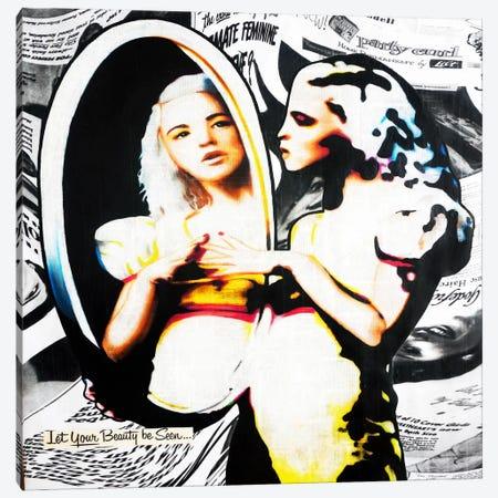 I Think I'm Going Digital Canvas Print #ATO12} by Annie Terrazzo Canvas Art Print