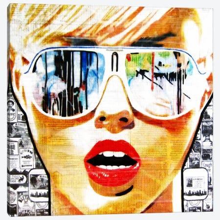 Illusion Of The Past 3-Piece Canvas #ATO16} by Annie Terrazzo Canvas Artwork