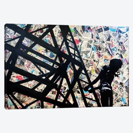 Transmission Tower Canvas Print #ATO17} by Annie Terrazzo Canvas Artwork