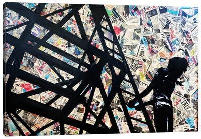 Transmission Tower Canvas Art Print