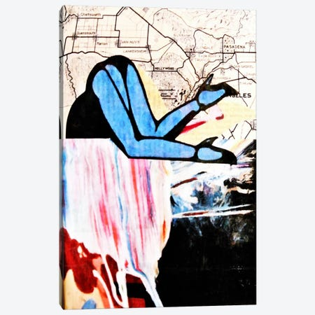 City and Self Canvas Print #ATO22} by Annie Terrazzo Canvas Art