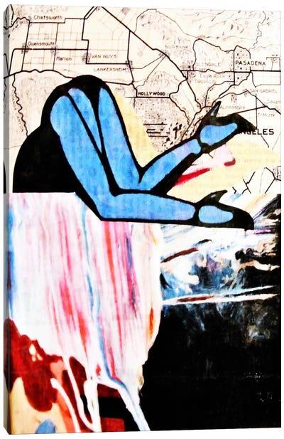 City and Self Canvas Art Print