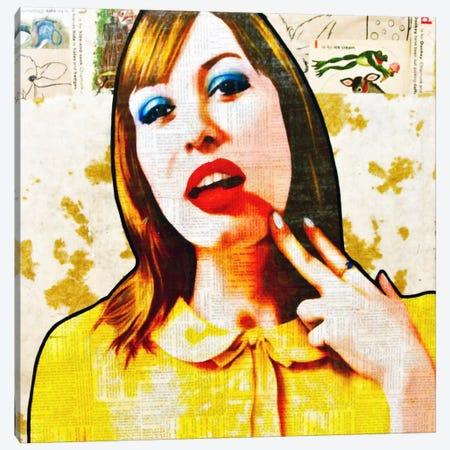 Smear It All Off Canvas Print #ATO26} by Annie Terrazzo Canvas Art Print