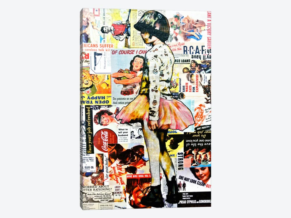 Full Metal Tutu by Annie Terrazzo 1-piece Canvas Print