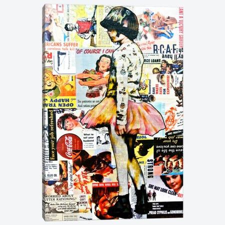 Full Metal Tutu Canvas Print #ATO27} by Annie Terrazzo Canvas Print