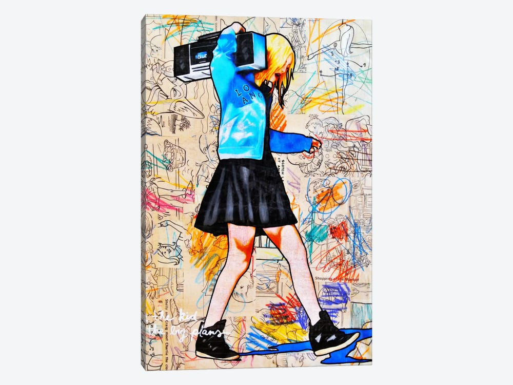I'll Be The Kid With The Big Plans by Annie Terrazzo 1-piece Art Print