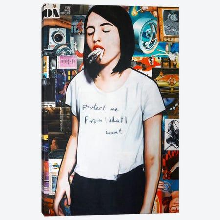 Vape Me Canvas Print #ATO31} by Annie Terrazzo Art Print