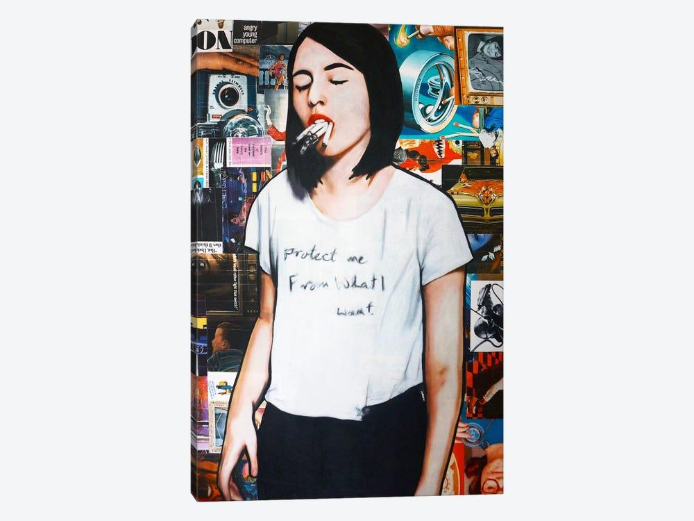 Vape Me by Annie Terrazzo 1-piece Canvas Art