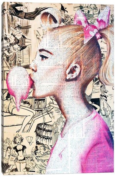 Dream Girl Canvas Art Print