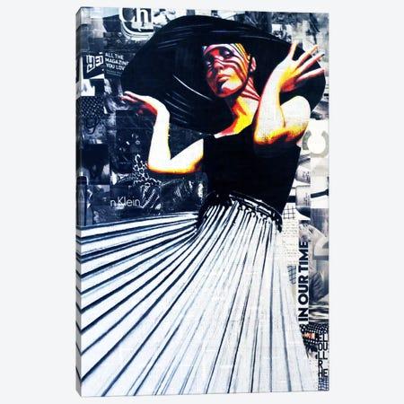 Your Glamorous Girlfriend Canvas Print #ATO36} by Annie Terrazzo Canvas Art