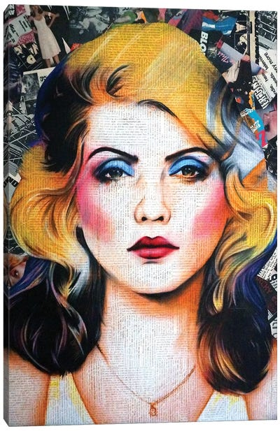 Blondie Canvas Art Print