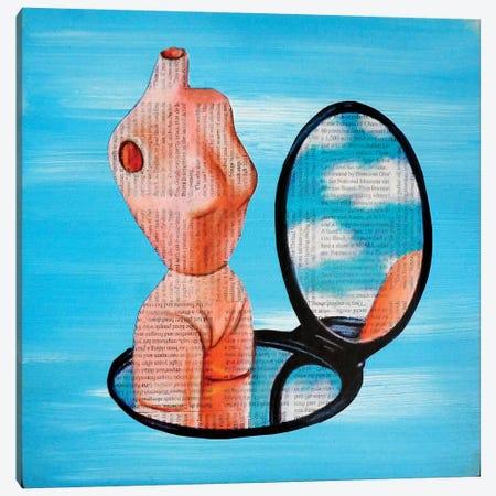 Doll Parts Canvas Print #ATO39} by Annie Terrazzo Art Print