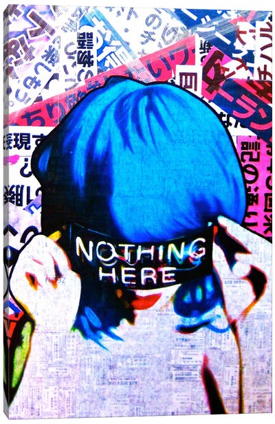 Nothing Here Canvas Art Print