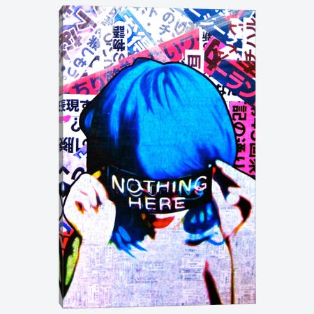 Nothing Here Canvas Print #ATO3} by Annie Terrazzo Canvas Art Print