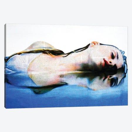 Into The Blue Canvas Print #ATO43} by Annie Terrazzo Canvas Art