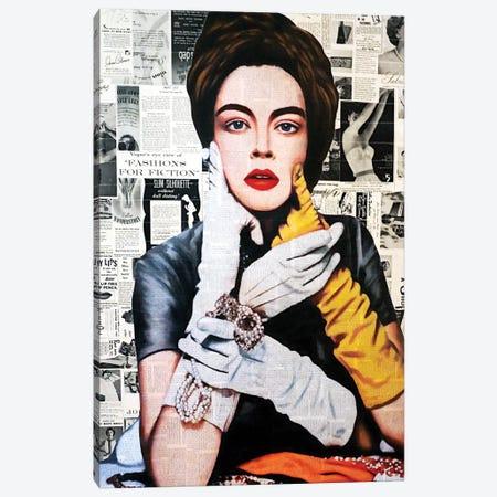 Fashion For Fiction Canvas Print #ATO48} by Annie Terrazzo Canvas Artwork