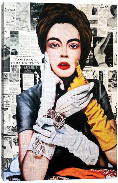 Fashion For Fiction Canvas Art Print