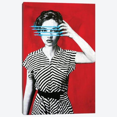 Lines Canvas Print #ATO50} by Annie Terrazzo Canvas Art Print