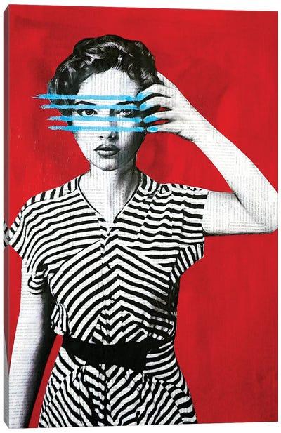 Lines Canvas Art Print