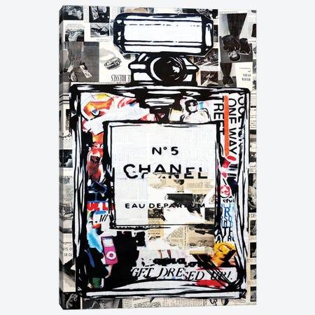 Smells Like Vogue Canvas Print #ATO54} by Annie Terrazzo Canvas Art