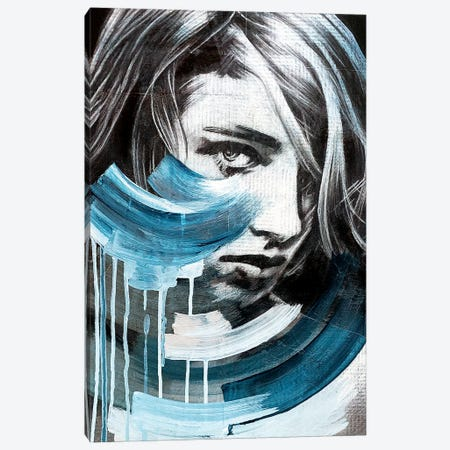 Waves Canvas Print #ATO56} by Annie Terrazzo Canvas Wall Art