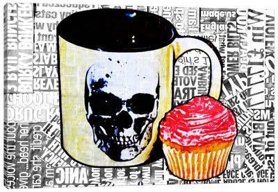 Cake Or Death Canvas Art Print