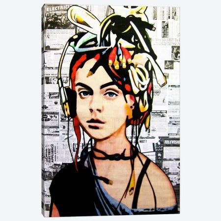 Wired Canvas Print #ATO9} by Annie Terrazzo Canvas Art Print