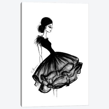 Feathers And Frills Canvas Print #ATQ22} by Anum Tariq Canvas Art