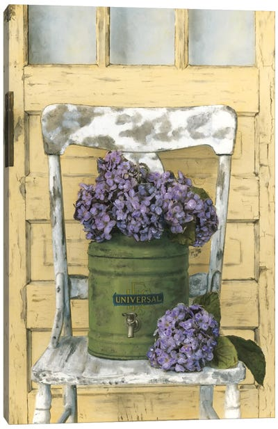 Cottage Bouquet I Canvas Art Print