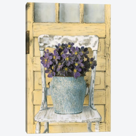 Cottage Bouquet II Canvas Print #ATR3} by Cristin Atria Canvas Art Print