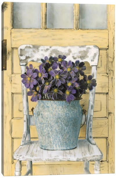 Cottage Bouquet II Canvas Art Print