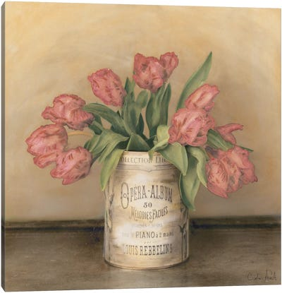Royal Tulips Canvas Art Print