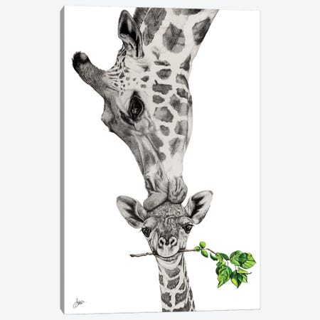 To Be Loved Canvas Print #ATT11} by Astra Taylor-Todd Canvas Wall Art