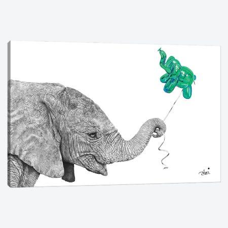 Happy Stanley Canvas Print #ATT15} by Astra Taylor-Todd Canvas Art Print