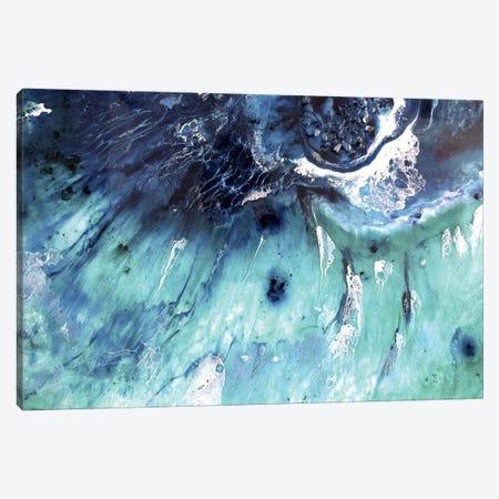 Bondi Surfing Canvas Print #ATU10} by Antuanelle Canvas Print
