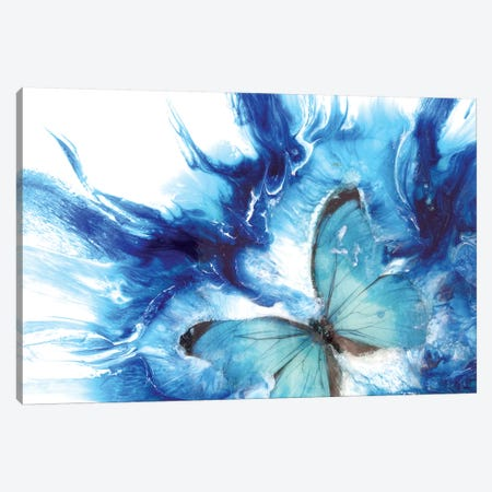 Dreaming 2.0 Limited Edition Print Light Teal Canvas Print #ATU17} by Antuanelle Canvas Artwork
