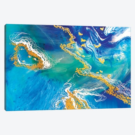 Heart Reef 8.1 Canvas Print #ATU28} by Antuanelle Canvas Wall Art