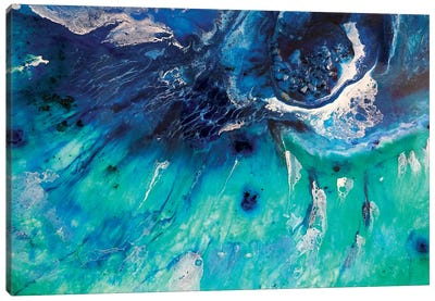 Aqua Green Bondi Surf Canvas Art Print