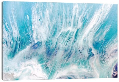 Laguna Soft Seafoam Canvas Art Print